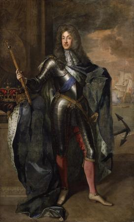 Portrait of King James II & VII