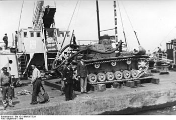 German preparations for operation Sealion, inv...