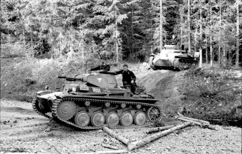 """""""In the West (Western campaign).- Panzer ..."""