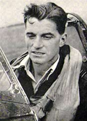 English: RAF Officer James Johnson, highest sc...