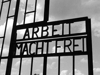 """Arbeit Macht Frei (""""work brings freedom&q..."""