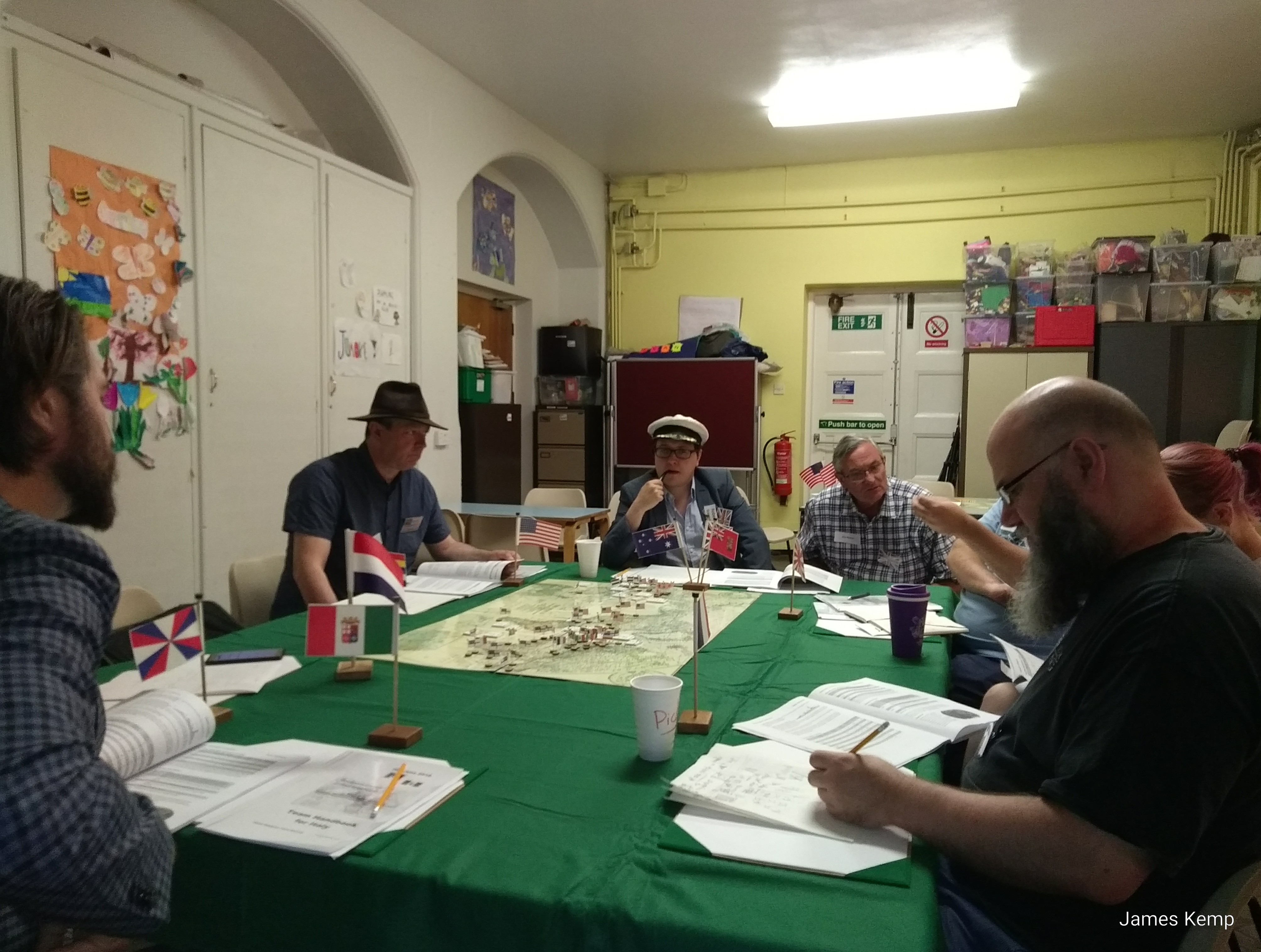 Washington Conference Megagame military committee